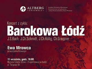 Zapraszamy na koncert z cyklu: Barokowa Łódź
