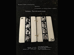 Wernisaż książek Adama Paczkowskiego