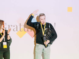 Oleksandr Shumko, absolwent WSSiP, laureatem prestiżowego konkursu Projekcji!