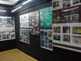 Wystawa prac studentów pracowni z podstaw projektowania architektonicznego