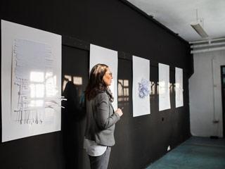"""Wystawa prac studentów """"Struktura bieli"""""""