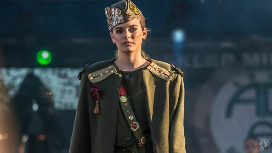 Obrona dyplomu magisterskiego Małgorzaty Kryger