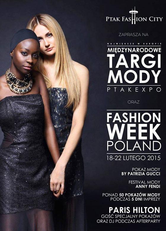 Międzynarodowe Targi Mody PTAKEXPO oraz Fashion Week Poland 2015